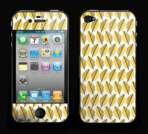 Gelbe Blätter Skin IPhone 4/4s