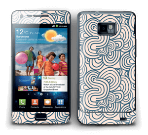 Squiggles Skin Galaxy S2