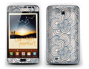 Squiggles Skin Galaxy Note
