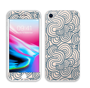 Squiggles skin IPhone 8