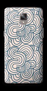 Roosat käyrät tarrakuori OnePlus 3T