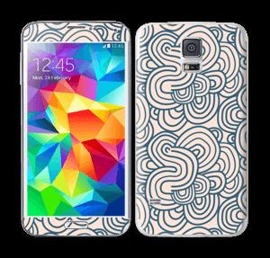 Roosat käyrät tarrakuori Galaxy S5