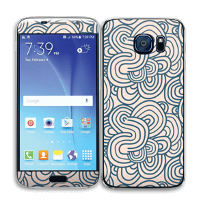 Squiggles Skin Galaxy S6