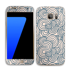 Squiggles Skin Galaxy S7