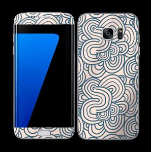 Squiggles Skin Galaxy S7 Edge