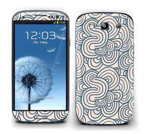 Squiggles Skin Galaxy S3