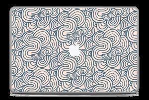 """Squiggles Skin MacBook Pro 17"""" -2015"""