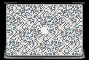 """Meandro Rosa Vinilo  MacBook Pro 15"""" -2015"""