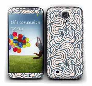 Squiggles Skin Galaxy S4