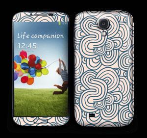 Roosat käyrät tarrakuori Galaxy S4