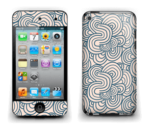 Squiggles Skin IPod Touch 4th Gen