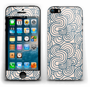 Méandres de rose Skin IPhone 5s