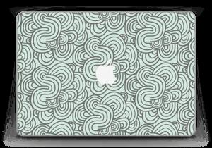 "Vihreät käyrät tarrakuori MacBook Pro Retina 13"" 2015"