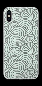 Squiggle Skin IPhone X