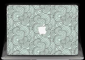 """Groene kringels Skin MacBook Air 13"""""""