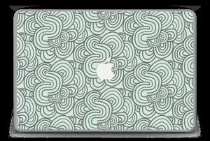"""Vihreät käyrät tarrakuori MacBook Pro 15"""" -2015"""
