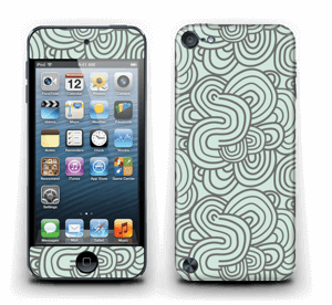Méandres de vert Skin IPod Touch 5th Gen