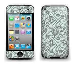 Méandres de vert Skin IPod Touch 4th Gen