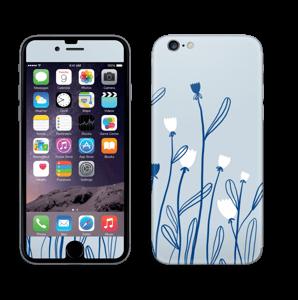 Sinivalko tarrakuori IPhone 6/6s