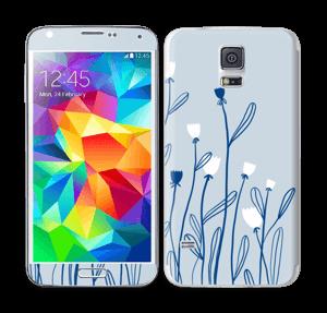 Sinivalko tarrakuori Galaxy S5