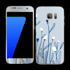 Sinivalko tarrakuori Galaxy S7