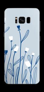 Sinivalko tarrakuori Galaxy S8