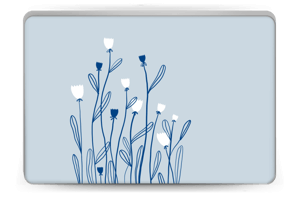Sinivalko tarrakuori Laptop 15.6