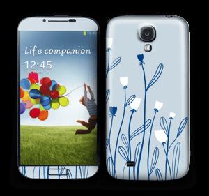 Sinivalko tarrakuori Galaxy S4