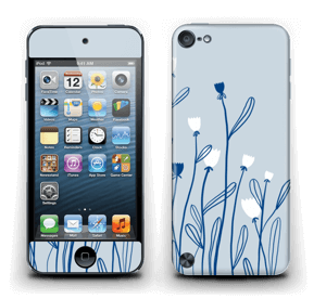 Petites Tulipes Skin IPod Touch 5th Gen