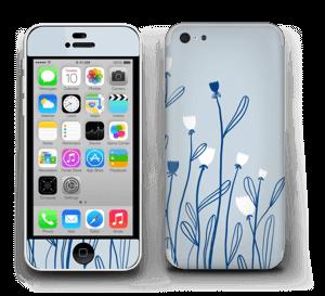 Sinivalko tarrakuori IPhone 5c