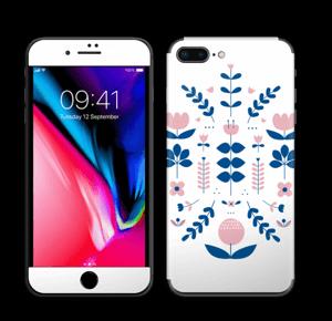 Kurpitsa tarrakuori IPhone 8 Plus
