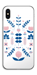 Floraison symétrique Skin IPhone X