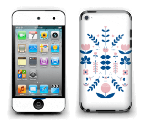 Floraison symétrique Skin IPod Touch 4th Gen