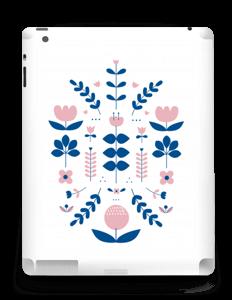 Floraison symétrique Skin IPad 4/3/2