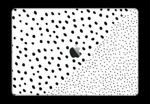 "Pienet pilkut tarrakuori MacBook Pro 15"" 2016-"