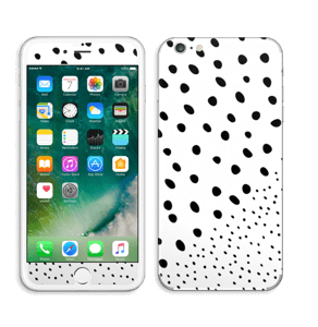 Pienet pilkut tarrakuori IPhone 6 Plus