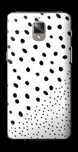 Pienet pilkut tarrakuori OnePlus 3T