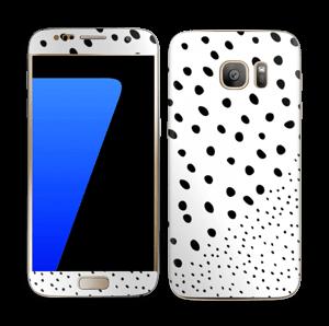 Pienet pilkut tarrakuori Galaxy S7