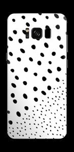 Pienet pilkut tarrakuori Galaxy S8
