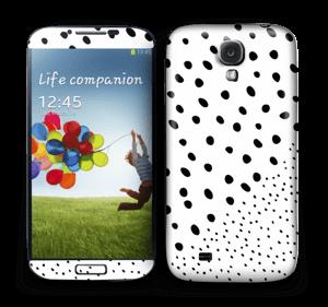 Pienet pilkut tarrakuori Galaxy S4