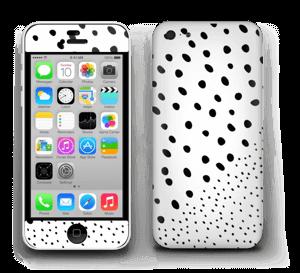 Pienet pilkut tarrakuori IPhone 5c