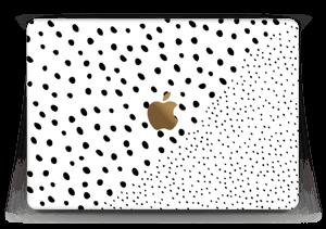 "Pienet pilkut tarrakuori MacBook 12"""