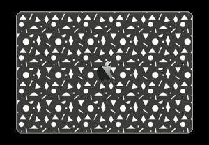 "Geometriset kuviot tarrakuori MacBook Pro 15"" 2016-"