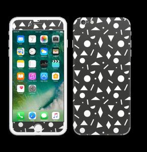 Geometriset kuviot tarrakuori IPhone 6 Plus