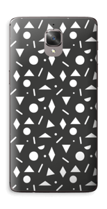 Black & White Art Skin OnePlus 3