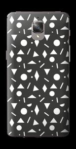Geometriset kuviot tarrakuori OnePlus 3T