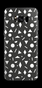 Geometriset kuviot tarrakuori Galaxy S8