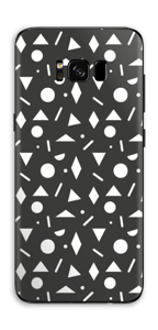 Black & White Art Skin Galaxy S8 Plus
