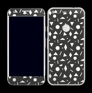 Black & White Art Skin Pixel