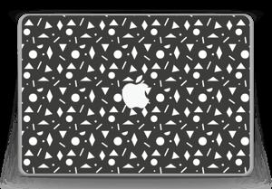 "Black & White Art Skin MacBook Pro 13"" -2015"
